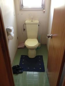 早良区事務所トイレ工事前