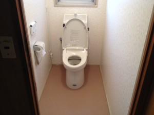 早良区事務所トイレ工事後
