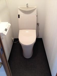 西区N様邸トイレ工事後